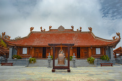 Chinese temple on Fansipan mountain top