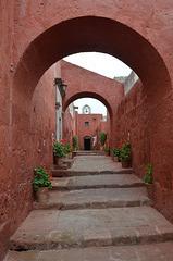 Peru, Arequipa, Santa Catalina Monastery, Calle Sevilla