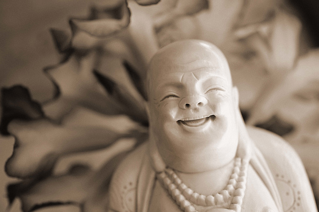Vintage Buddha for Sunday Challenge