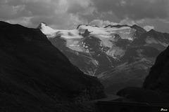 En redescendant du Col de l'Iseran, coté Maurienne
