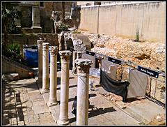Jerusalén: ruinas arqueológicas