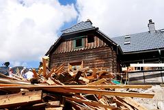 Voisthalerhütte, Alt & neu / Old & new