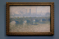 """Le pont de Waterloo, temps gris"" (Claude Monet - 1903)"