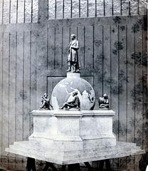 Mystery Statue of George Stephenson