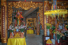 Inside the temple on Fansipan top station