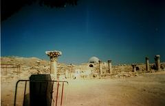Ruins of Byzantine basilica (6th or 7th century).
