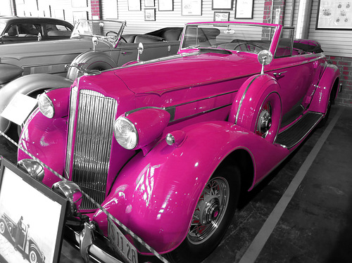 1936 Packard Roadster (0069A)