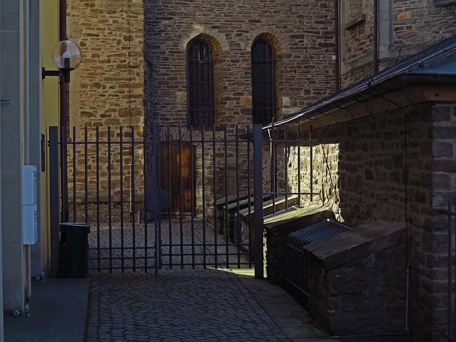 Eingang zur Schatzkammer