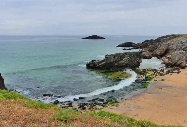 Côte sauvage, presqu'île de Quiberon
