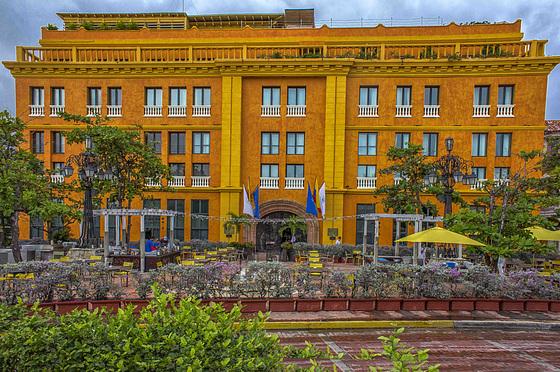 Cartagena: oldie building