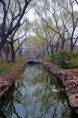 The park in the zoo of Beijing