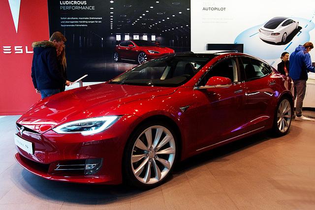 Hamburg - Tesla showroom