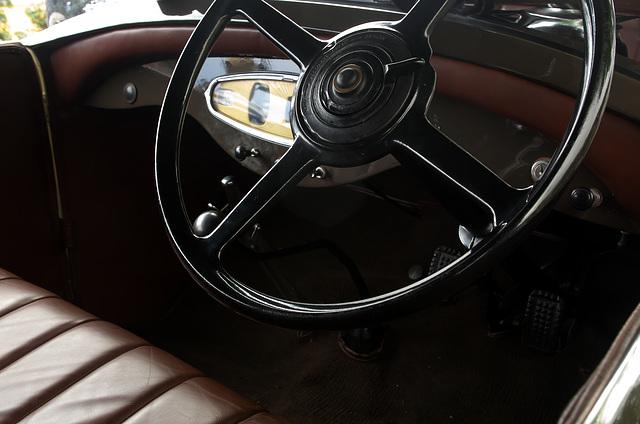 Hudson Super Six Steering Wheel