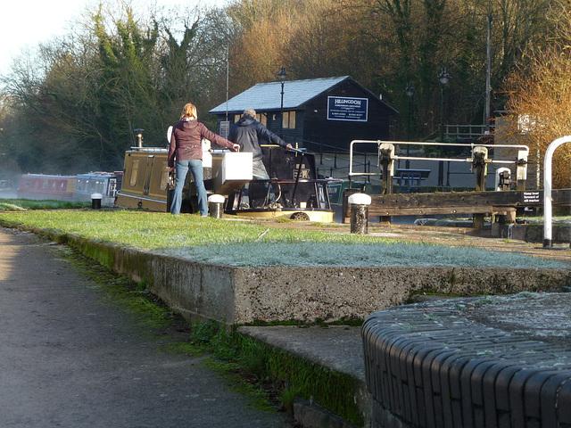 Copper Mill Lock ~ Grand Union Canal ~ Harefield
