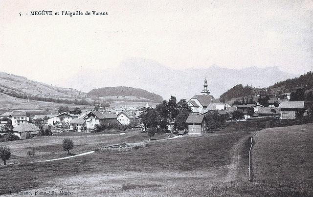 Megève (74) Vers 1900.