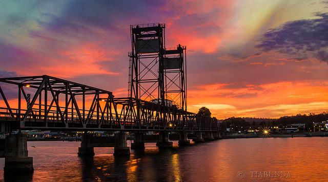Baybridge sunset