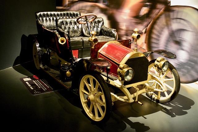 Turin 2017 – Museo Nazionale dell'Automobile – 1908 Brixia Züst 10HP