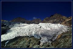 Langue terminale du Glacier Blanc - Massif des Ecrins