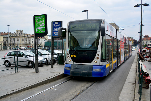Turin 2017 – Tram 6047 on line 6
