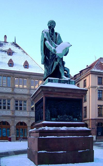 FR - Strasbourg - Gutenberg Denkmal