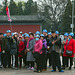 Touristgroup in Lama temple