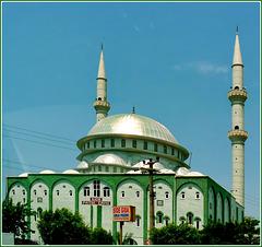 SIDE : una bella moskea fuori città