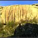 Sierra de La Cabrera. Gashed rock.