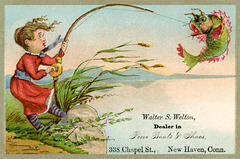 Walter S. Welton, Boots and Shoes, New Haven, Conn.