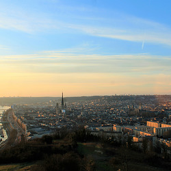 Rouen - La Colline Sainte Catherine - Panorama