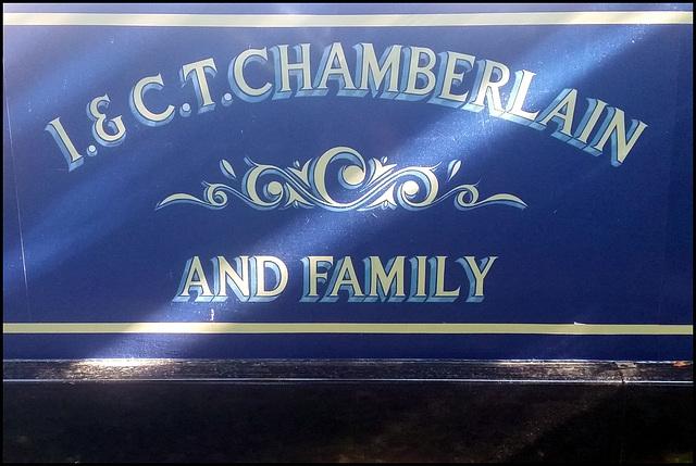 Chamberlain family narrowboat