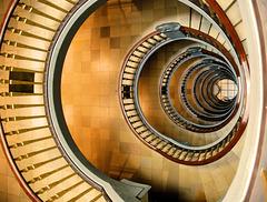 Treppen im Kontorhaus Meßberg #05/50