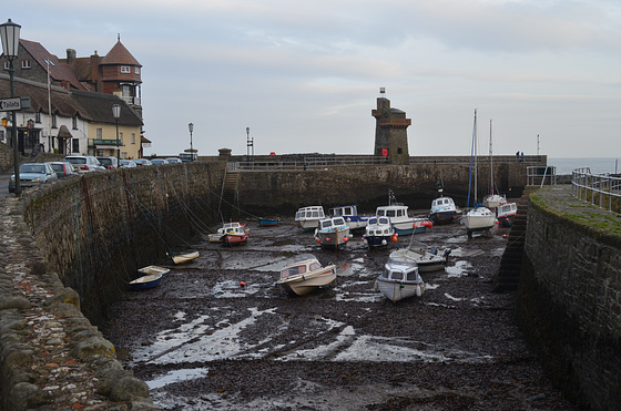 Lynmouth, Low Tide