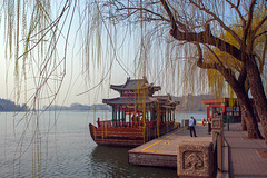 At the Beihai Lake in Beijing