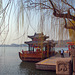 At the Beihai Lake in Beijing