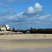 Hafen St. Ives bei Ebbe