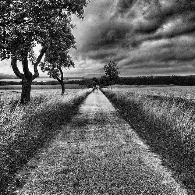 The long walk to Mordor.