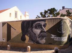 Cascais fisherman, by Draw.