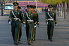March of guards at Tiananmen Square