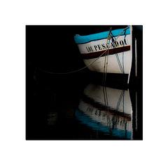 Reflets dans le port.