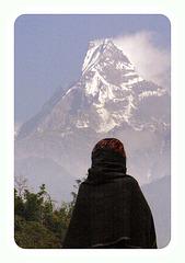 Montagne sacrée du Népal