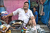 Indian food street
