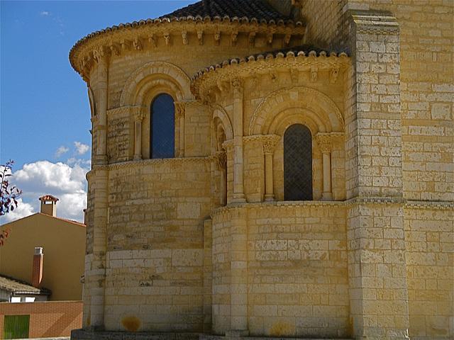 Abside de la iglesia de San Martín, en Fromista.