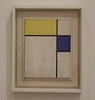 Composition with Blue and Yellow by Mondrian in the Philadelphia Museum of Art, January 2012