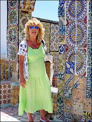 Tunisi : Nella Medina si possono ammirare i grafismi delle piastrelle tunisine