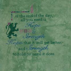 "Glendon Place ""Hope & Strength"""