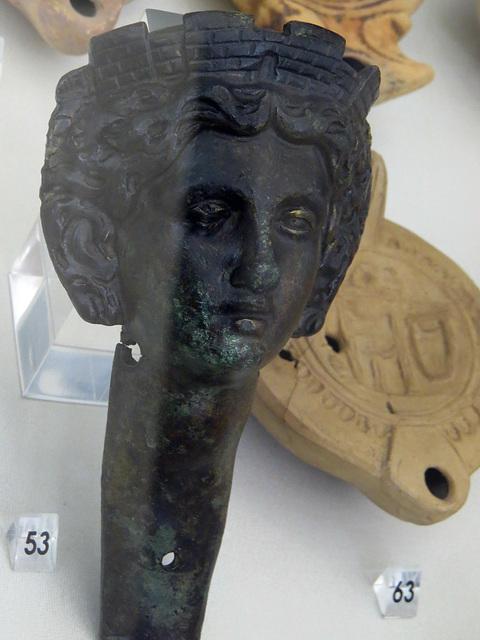 Musée archéologique de Split : personnification de Salona.