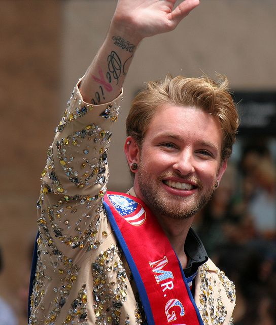 San Francisco Pride Parade 2015 - Mr Gay USA (7241)