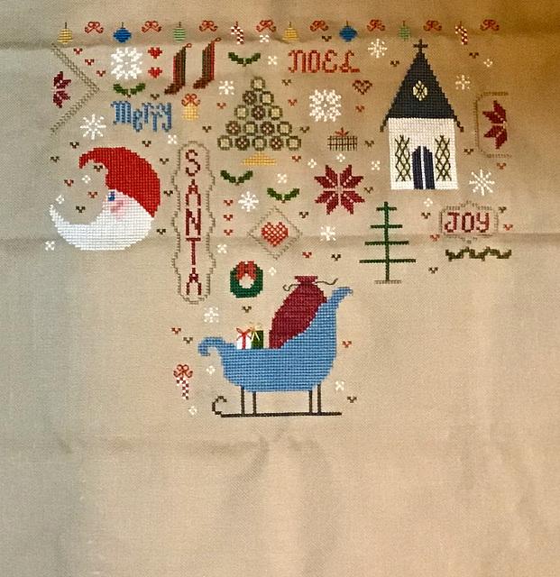 "Faithwurks/Just Cross Stitch ""Quaker Christmas Sampler"" SAL"