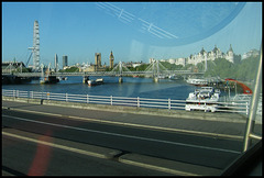 view from Waterloo Bridge