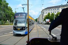 Leipzig 2015 – Straßenbahnmuseum – A trip with tram 179 – 179 meets 1226